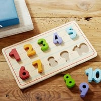 Numbers Puzzle | Pottery Barn Kids