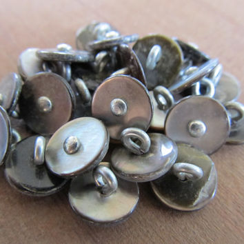 Abalone Shell Buttons (25)