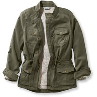 L.L.Bean Lined Freeport Field Military Inspired Jacket