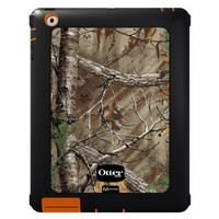 OtterBox Defender Series Case with Screen Protector and Stand for iPad 4, iPad 2 and 3 - Realtree Camo