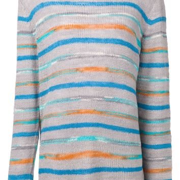 The Elder Statesman striped sweater