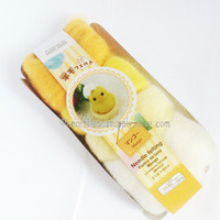 wool only, mango yellow series n white wool set, sunny bright, needle felting wool, diy fun, id1370111 gift for crafter