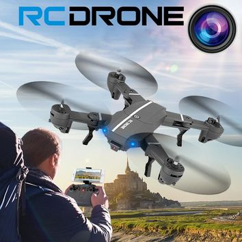 2.4G 4CH Altitude Hold HD Camera WIFI FPV RC Quadcopter Pocket Drone Selfie Foldable