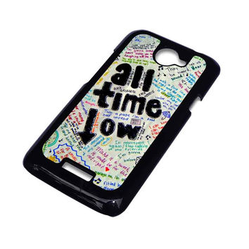 ALL TIME LOW COLOUR HTC One X Case