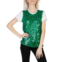 Imperial Green Sleeves Short T-Shirt