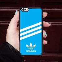 Luxury Adidas.0x0 Blue Stripe Fit Hard Case For iPhone 6 6s 7 8 Plus X Cover +