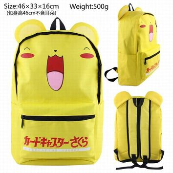 Student Backpack Children New MAD HOUSE Totoro Five Nights at Freddy&apos men and women common backpack high school students backpack high - capacity tr AT_49_3