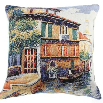 Soft Afternoon Decorative Pillow Cushion Cover