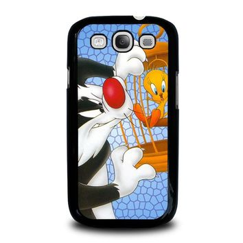 SYLVESTER AND TWEETY Looney Tunes Samsung Galaxy S3 Case Cover