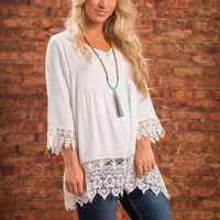 Sing Me A Song Top, Ivory
