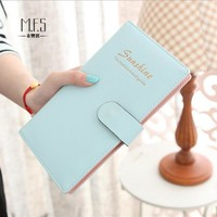 Hot Sale 65 Slots Women Credit Card Holder PU and PVC Buckle Large Capacity Business ID Holders Organizer Free Shipping