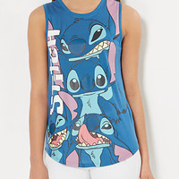 Stitch Collage Muscle Tank