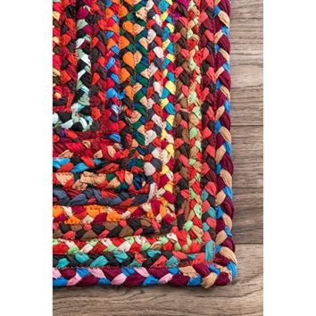 The Curated Nomad Grove Handmade Braided Cotton Rug - 5' x 8' | Overstock.com Shopping - The Best Deals on 5x8 - 6x9 Rugs