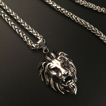 Stylish Shiny Jewelry Gift New Arrival Hot Sale Fashion Hip-hop Club Necklace [6542786051]