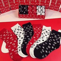Supreme X Louis Vuitton Socks