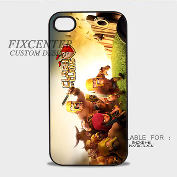 clash of clans giant army Plastic Cases for iPhone 4,4S, iPhone 5,5S, iPhone 5C, iPhone 6, iPhone 6 Plus, iPod 4, iPod 5, Samsung Galaxy Note 3, Galaxy S3, Galaxy S4, Galaxy S5, Galaxy S6, HTC One (M7), HTC One X, BlackBerry Z10 phone case design