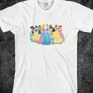 Disney Princesses Adult T-Shirt
