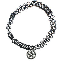 Pentagram Tattoo Choker