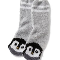 Patterned Cozy Crew Socks for Women | Old Navy