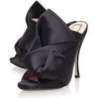 No. 21 Satin Bow Mule | Harrods.com