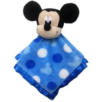 Disney Baby Bedding Mickey Mouse Security Blanket - Walmart.com