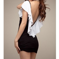 Cultivate one's morality of lotus leaf sleeve clothes
