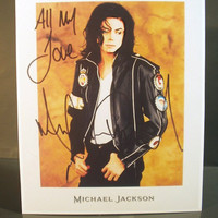 Michael Jackson 1991 Promo Photo Stand-Up Display