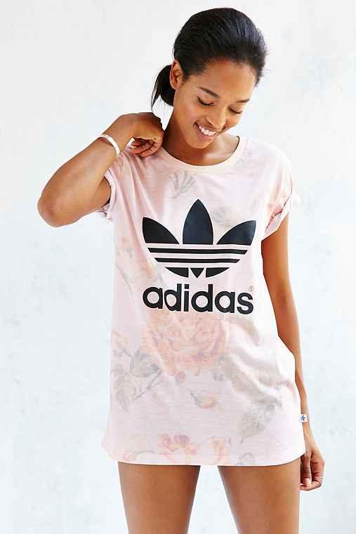 adidas pastel rose crop top