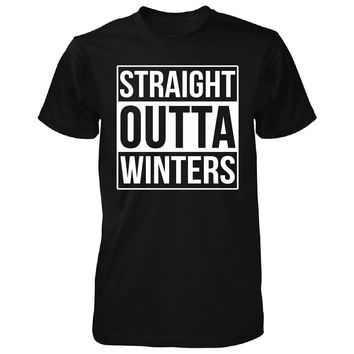 Straight Outta Winters City. Cool Gift - Unisex Tshirt