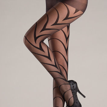 Art Deco Pantyhose