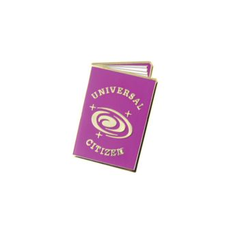 Universal Citizen Passport Lapel Pin