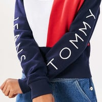Tommy Jeans For UO 90s Colorblock Pullover Sweatshirt - Urban Outfitters