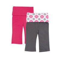 Yoga Sprout 2-Pack Baby Yoga Pants | Affordable Infant Clothing