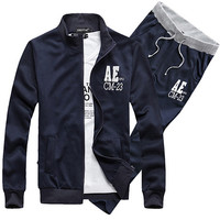 Fashion Men's Sport  Hoodie And Pants Set