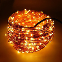 30M 300 LED Copper Wire Christmas String Light Outdoor Neon Starry Strings Light Wedding Party Decoration Fairy Garland Lights