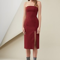 FINDERS KEEPERS LUCIE DRESS deep berry