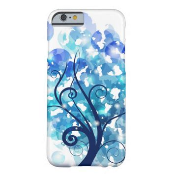 Blue Tree Barely There iPhone 6 Case