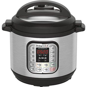 Multi-Use Programmable Pressure Cooker Instant Pot DUO80 8 Qt 7-in-1