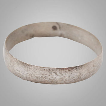 French Country Wedding Band, Viking Age Ring, C.866-1067A.D. Size 11 1/4  (20.7mm)(BRR762)