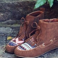 The Chinook Moccasins