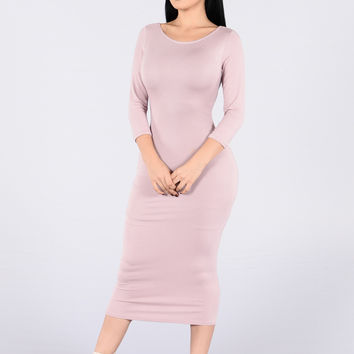 Ashanti Dress - Mauve