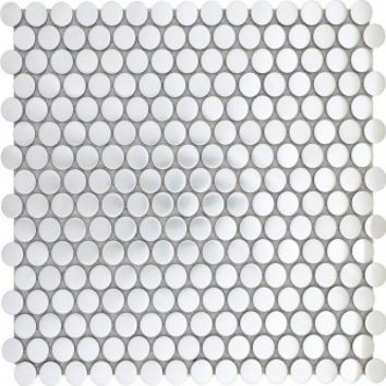 Penny Round Stainless Steel Tile