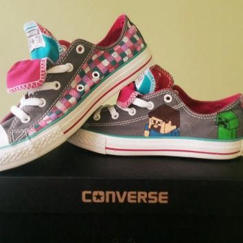 Hand Painted Custom Converse/Vans-Video Game Gamer Boy Girl Male Female Birthday Gift