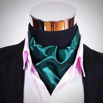 Various Solid Colors of Ascot Tie