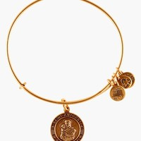 Women's Alex and Ani 'St. Anthony' Wire Bangle - Russian