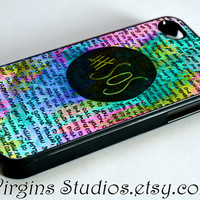 5 Second Of Summer Art Painted Design For iPhone 4/4s/5/5s/5c Case and Samsung Galaxy S3 i9300/S4 i9500 Case.