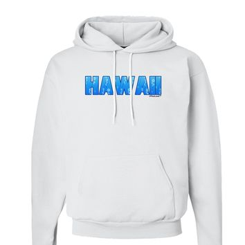 Hawaii Ocean Bubbles Hoodie Sweatshirt  by TooLoud