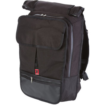 Chrome Citadel Laptop Backpack Black/Black, One