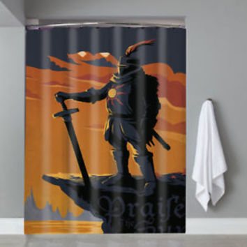 Hot Famous Dark Souls Solaire of Astora Custom Shower Curtain Limited Edition