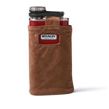 Stanley Flask with Suede Cover